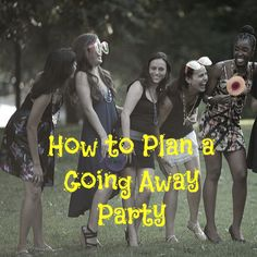 Saying goodbye to a friend or loved one who's moving away can be difficult to do. Rather than send them away on a solemn note, why not celebrate this new chapter in their lives with a going away party? Parties–no matter what type–are … Source: Friend Moving Away Gifts, Going Away Gifts, Goodbye Party, Goodbye Gifts, Farwell Party Ideas, Moving Away Parties, Deployment Party, Leaving Party, Bon Voyage Party