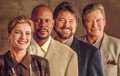 Janeway, Sisko, Ryker & Kirk