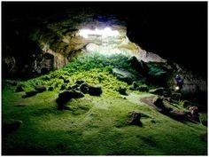 Lava Tube Cave, Lava Beds National Park, California