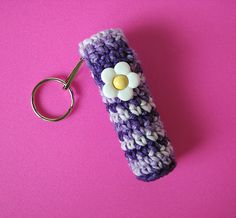 Ravelry: Chapstick / Lip Balm Holder pattern by Kristy Ashmore