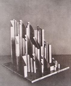 Plastic Representation of the Fugue in E Flat Minor by J.S. Bach | Heinrich Neugeboren |1928|
