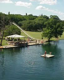 Mo Ranch in Hunt, Texas - my kids love hanging out here for a week with their cousins - swimming, rope swing, Mo slide and lots of ranch to explore.