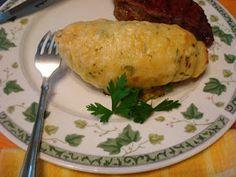 Robert Irvine 3 cheese hassleback potatoes! Yum!