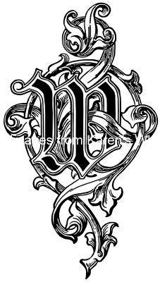 Alphabet Lettering Styles M