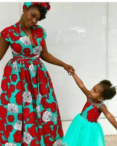 389156ae9e Matching Ankara Styles for Mothers and their Daughters. African ...