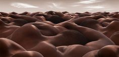 We've loved Carl Warner's Foodscapes works before, and we are absolutely digging Bodyscapes, his photo-manipulated series of vast and mountainous landscapes from sensual human bodies. Consider us wowed all over again.