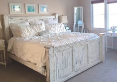 Beach furniture bedroom set/King size/Queen by GriffinFurniture