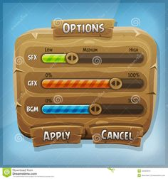 wood setting panel game - Google Search Game Ui Design, Game Interface, Game Google, Environment Concept Art, Game App, Mobile Game, Funny Design, Fun Games, How To Apply