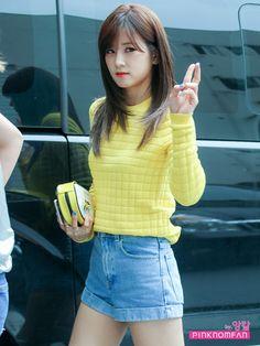 Apink Chorong Airport Fashion | Official Korean Fashion