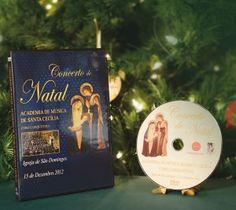 DVD Concerto de Natal   A pedido de vários benfeitores, a Fundação AIS ediotu o DVD do memorável Concerto de Natal, em Dezembro de 2012, gentilemnet oferecido pelo Coro da Academia de Santa Cecília.