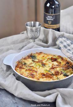 Broccoli bloemkool ovenschotel |