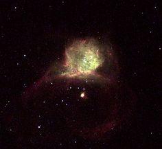 Hubble-X in galaxy NGC 6822 | ESA/Hubble. Credit: NASA (http://www.nasa.gov) / ESA (http://www.esa.int) and The Hubble Heritage Team STScI (http://www.stsci.edu) / AURA (http://www.aura-astronomy.org) )