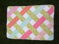 Molly B Quilts: Woven Lattice Quilt