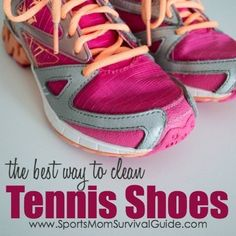 Kids and shoes…  It seems they are either outgrowing them at a rapid pace or playing so hard they are always filthy!  If dirt is the problem, we have you covered.  With a few simples steps you can clean up their tennis shoes and have them looking new again. Here's the best way to clean tennis ...