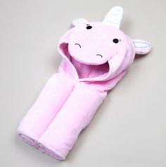 Unicorn Hooded Towel - Kids Hooded Towel