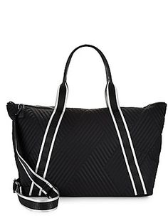 KENDALL + KYLIE JANE QUILTED TOTE. #kendall+kylie #bags #shoulder bags #hand bags #nylon #tote #