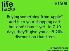 Discounts from Apple