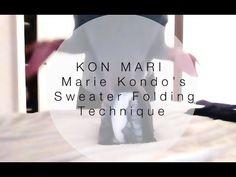 closet shelves Folding a sweater like Marie Kondo | KonMari folding technique | - YouTube