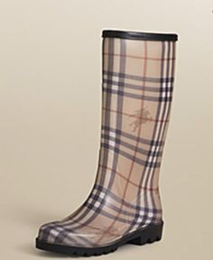 Rain boots by Burberry