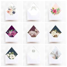 We finally have a section on our website dedicated to our fancy envelope liners! Highly recommend taking a look just to satisfy any OCD cravings. Wedding Invitation Trends, Invitation Set, Wedding Stationary, Brown Paper Wrapping, Fancy Envelopes, Timeless Wedding, Envelope Liners, Crafty Projects, Wedding Paper