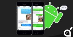 Apple ha lavorato a versioni di iMessage per Android di cui una in Material Design