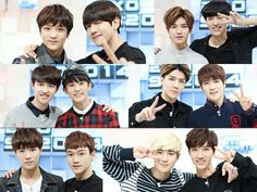 Exo with SM rookies