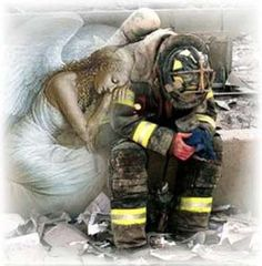 Firefighter Angel Paintings Firefighter angel paintings