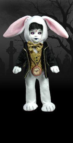 Eggzorcist as The white Rabbit