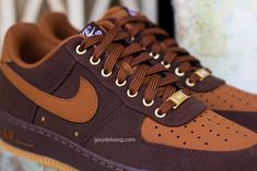 Nike Air Force 1 Low - Brown Denim | Sole Collector