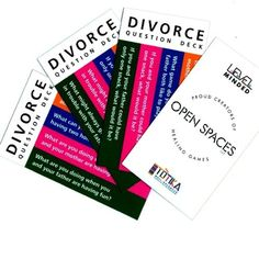When mom and dad separate children can learn to cope with grief includes 48 cards with over 150 though provoking questions card encourage children to talk about their parents divorce their feelings and identify solutioingenieria Choice Image