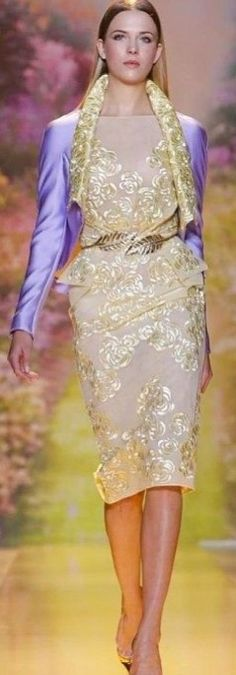 Zuhair Murad-2014, What Lady Olenna should wear to the purple wedding