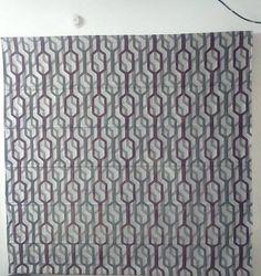 Geometrical Pattern Roman Blind