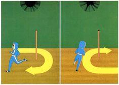 Toshinobu Imai, magazine illustration, circa 1981