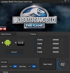 Jurassic World The Game Cheats