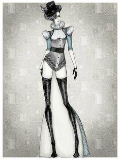 Brilliant Fashion Drawings