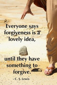 Forgiveness is a choice not a feeling. Decide to forgive, say it and let it go.