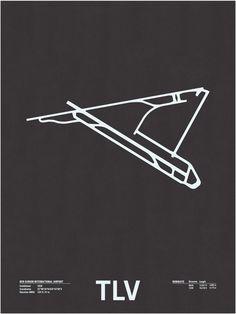 TVL airport, Runway Series - NOMO studio, Jerome Daksiewicz