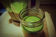 green smoothie - freezing