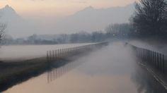 Avigliana, un manto ovattato sale a ricoprire prati e canali  #myValsusa 02.02.17 #fotodelgiorno di Mario Roja