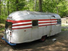 1956 Airstream Safari Camper Trailer Vintage RV 13 Panel rare on eBay!