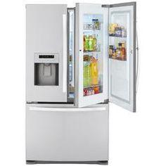 70333 23.9 cu. ft. French Door Bottom-Freezer Refrigerator w/Grab-N-Go™ Door - Sears