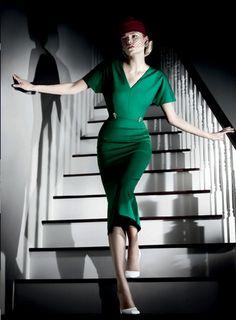 Natasha Poly in Jil Sander's S/S 2012 campaign