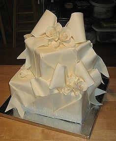 Ribbons and Bows Cake