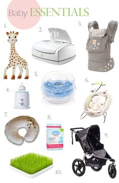 My Favorite Baby Items