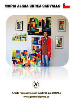 Biografía María Alicia Urrea Carvallo nace en Madrid, España, el año 1985. En el año 1990 llega a Chile a radicarse junto a su familia. En el año 2004 estudia Artes Visuales en la Universidad Finis Terrae. Mención de pintura el 2009, año en el que ingresó a especializarse en un Magíster en Gestión Cultural en la Universidad de Chile. Perfil obra / statement La ciudad y los elementos que la componen son la principal temática en mi obra. El espacio, las estructuras y el orden de su…