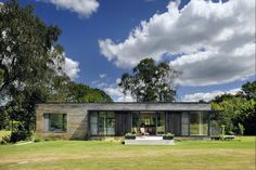 Contemporary Mobile Home in the UK's New Forest Woodland…