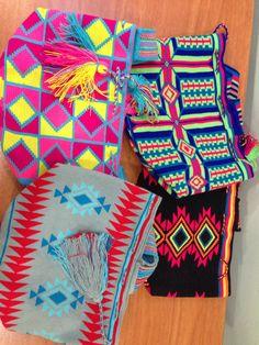 Mochilas tradicionales Wayuu  En comercialmasdiseno@gmail.com
