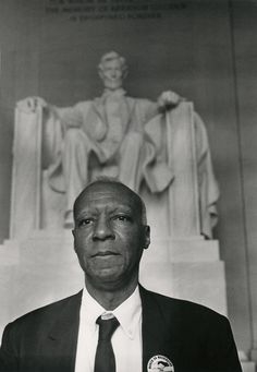 A Philip Randolph--whose idea started the March on Washington, 1963