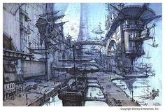 treasure planet concept art | ... Tuned for Amazing], Michael Spooner's [amazing] concept art for