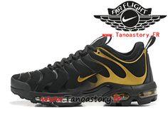 sports shoes 09978 27593 Chaussures Homme Nike Air Max Plus Tn 2017 ID Officiel Nike Prix Pas Cher  Noir Or